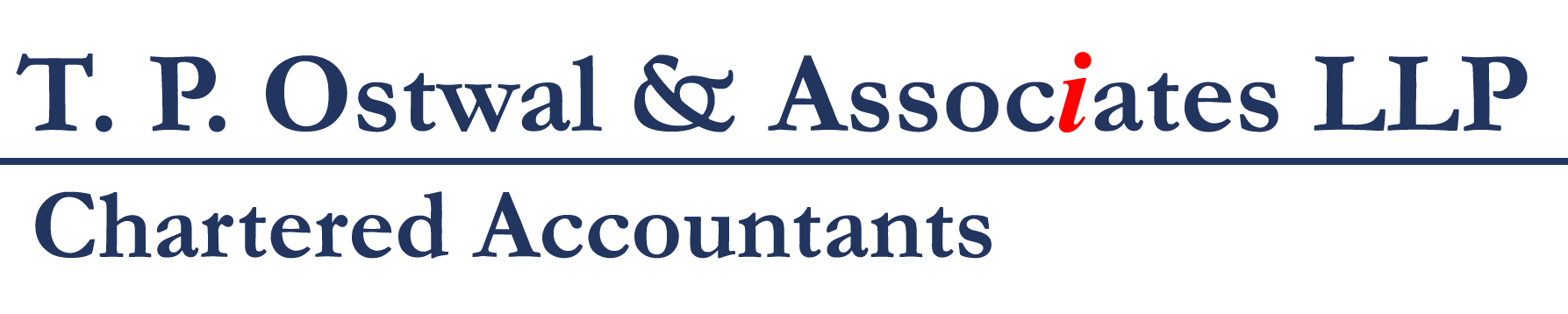 T.P. Ostwal & Associates LLP Chartered Accountants